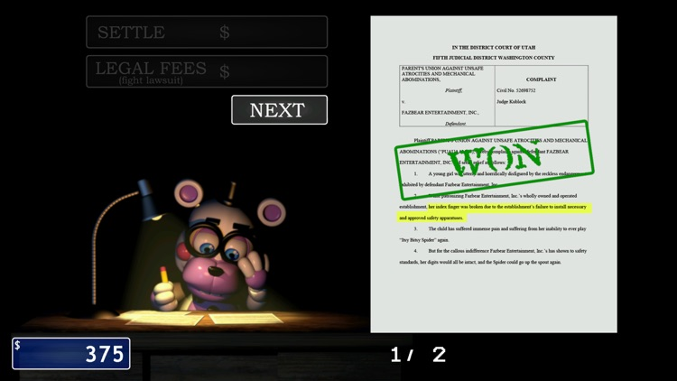 FNaF 6: Pizzeria Simulator screenshot-3