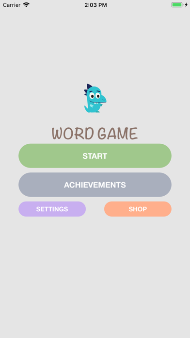 Name that thing - Word Game screenshot one