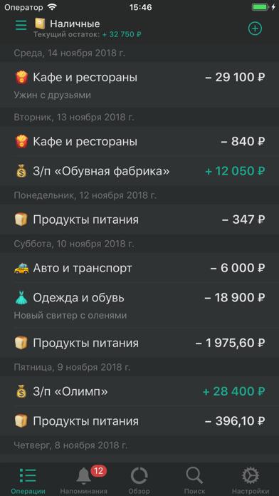 CashSync: Учет расходов + PROСкриншоты 4