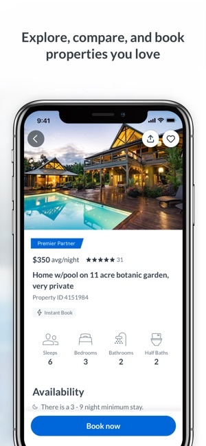 3be45ac0f HomeAway Vacation Rentals on the App Store
