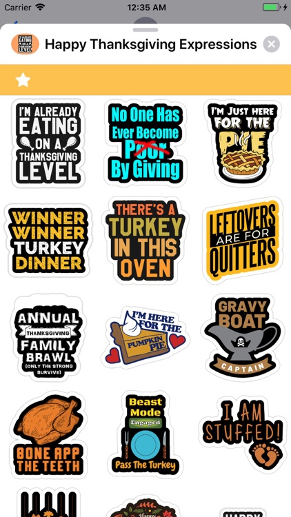 Happy Thanksgiving Expressions