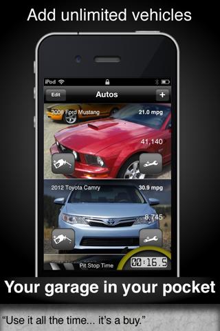 Car Care fuel & service log - náhled