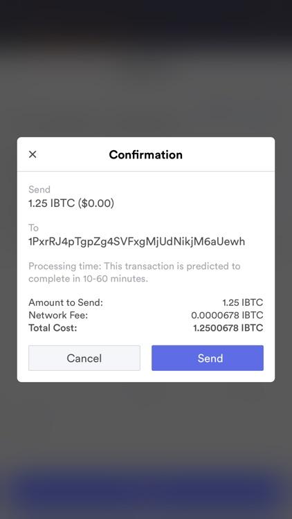 iBitcoin Wallet (iBTC) screenshot-9