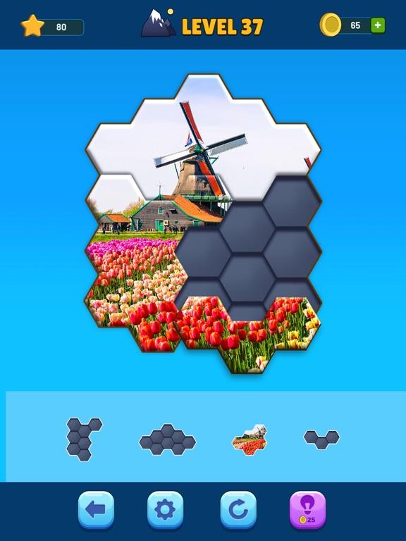 Hexa Jigsaw Puzzle™ screenshot 8