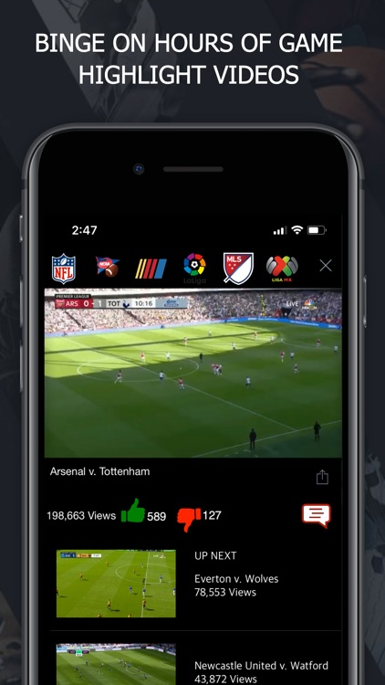 Yellfy Sports: Scores & News screenshot-1