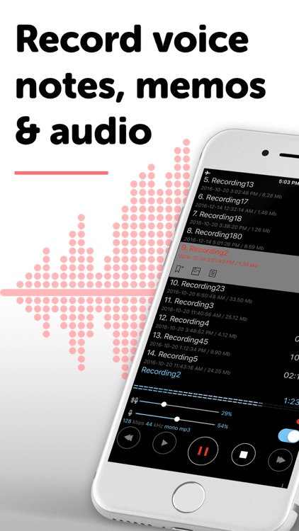 ALON Dictaphone - Voice Memos