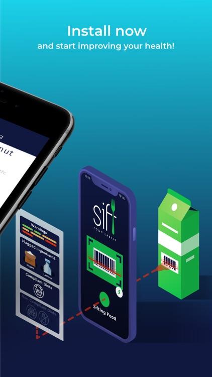 Sift Food Labels: Scanner screenshot-6