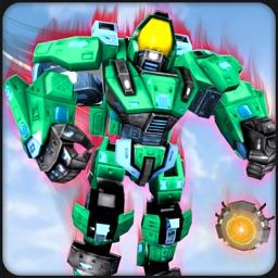 Justice Robot War Battle