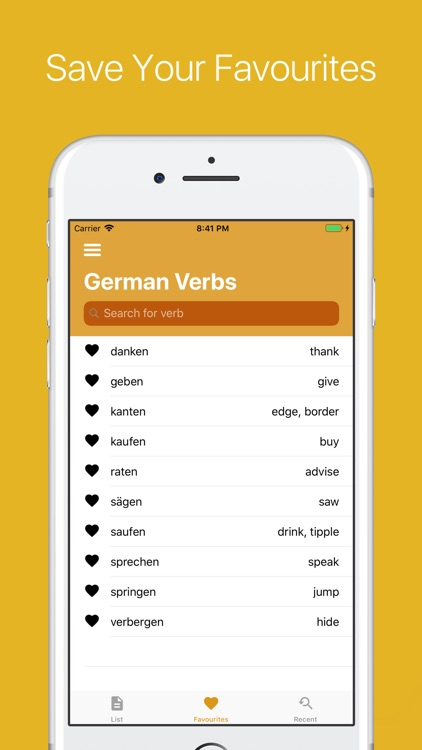 German Verb Conjugator Pro screenshot-4