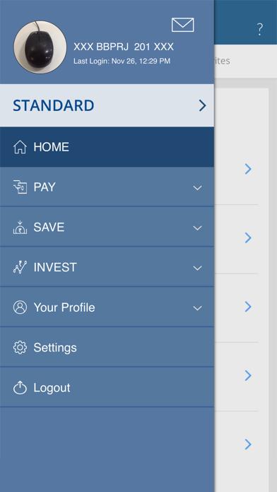 HDFC Bank MobileBanking screenshot two