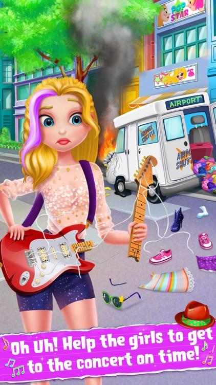 Rockstar Girls Adventure Game