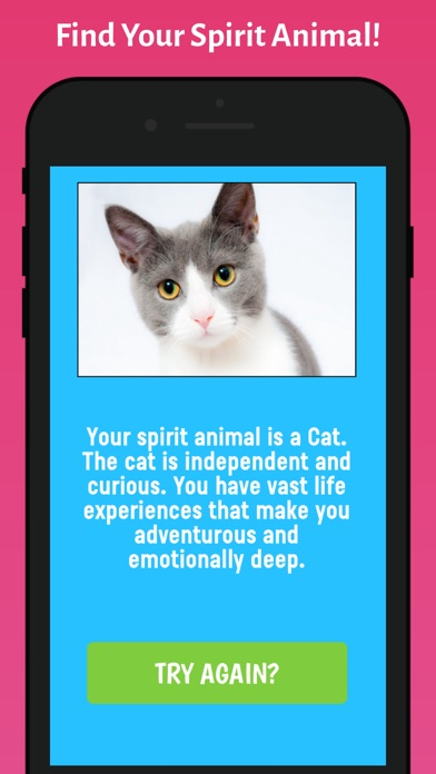 Which Animal Are You? screenshot two