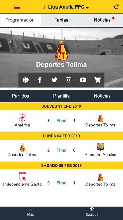 Liga Aguila Futbol Profesional screenshot-4