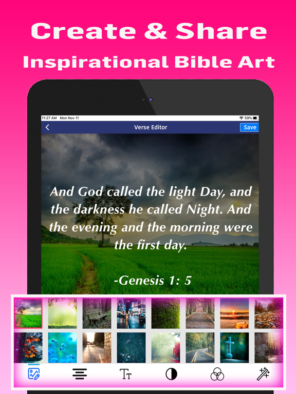 Holy Bible KJV Offline screenshot