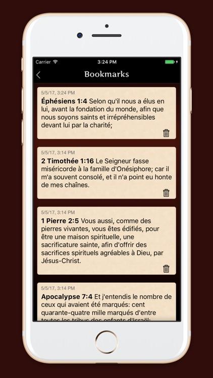 La Sainte Bible - français screenshot-3