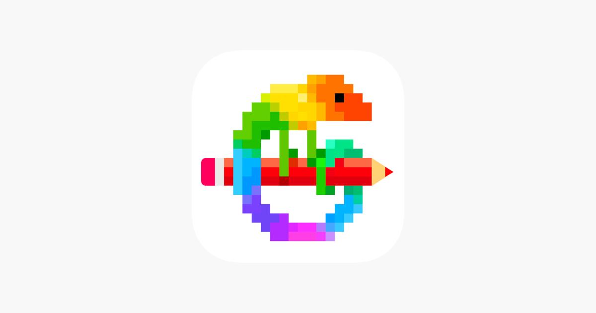 Pixel Art Jeu De Coloriage Dans Lapp Store