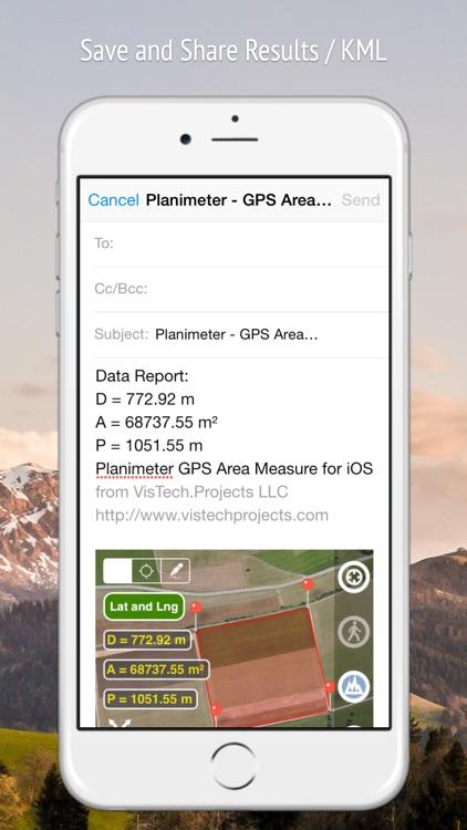 Planimeter GPS Area Measure screenshot-5