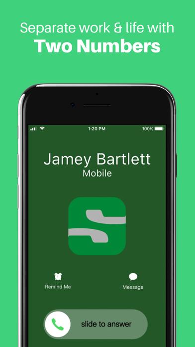 Sideline: Second Phone Number Screenshot