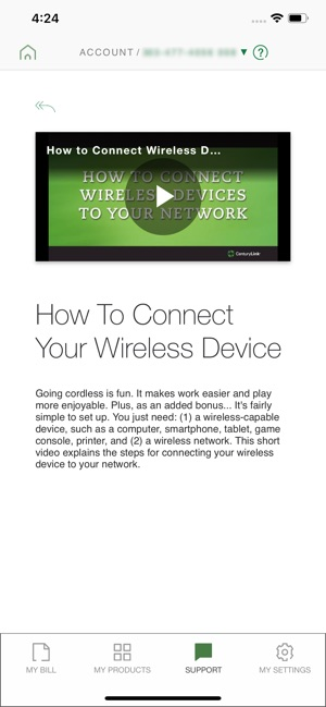 My CenturyLink on the App Store