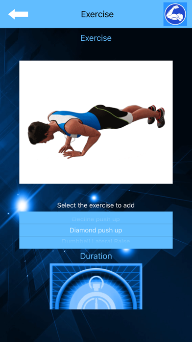 Arm Workout at Home with music screenshot 8