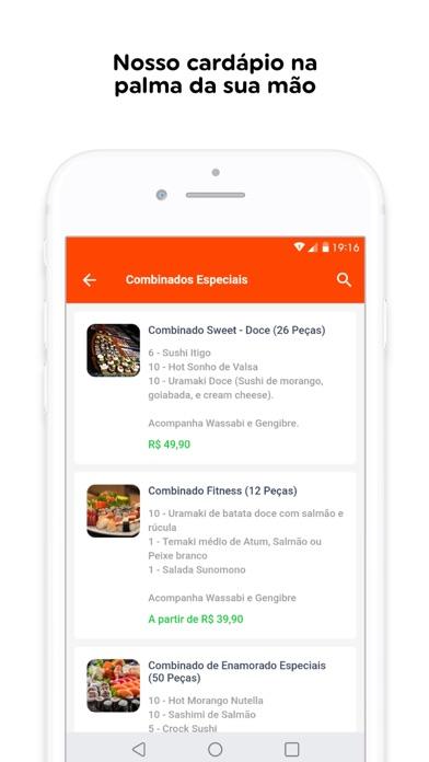 Yobu Sushi screenshot 3