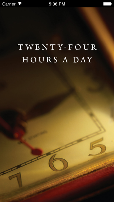 Twenty Four Hours A Day review screenshots