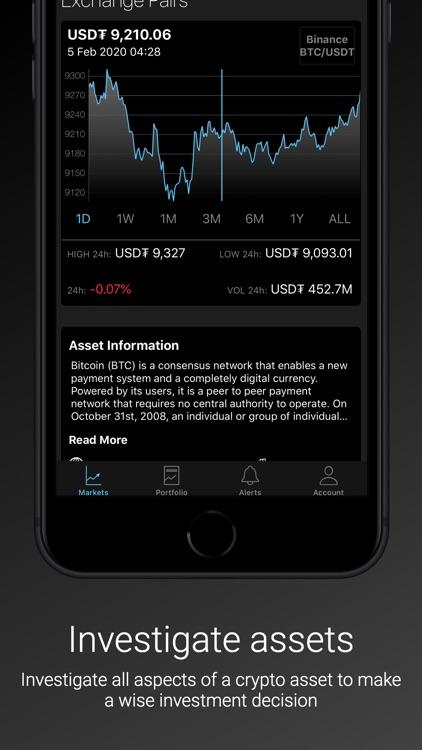 Coincrypt - Crypto Tracker screenshot-4