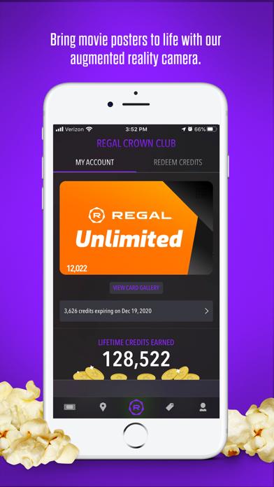 Regal review screenshots
