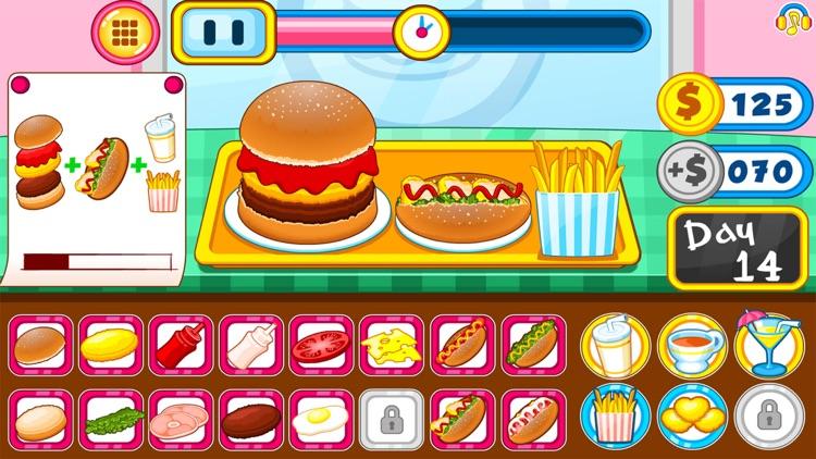 Burger shop fast food screenshot-5