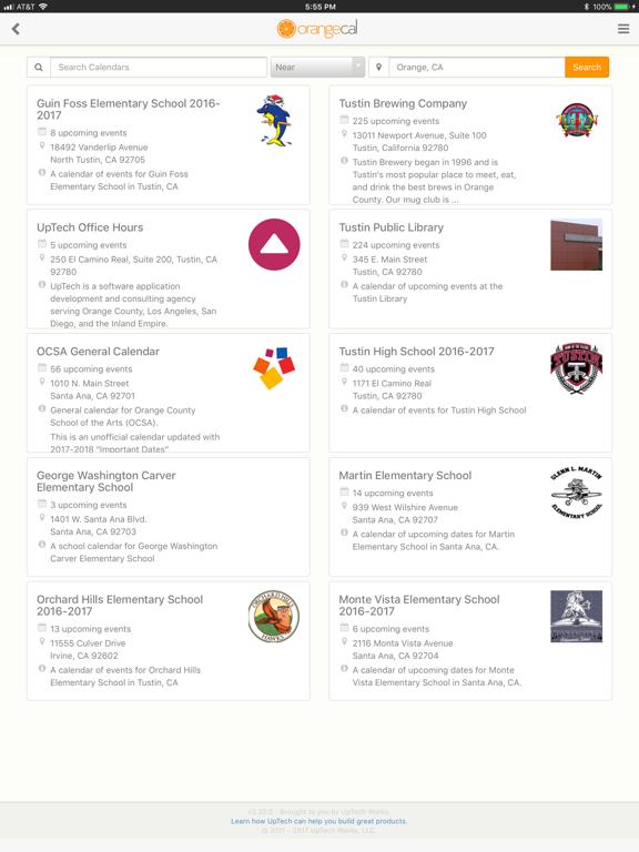OrangeCal - Shared Calendar for your Family, Organization, Team, Club, Volunteer Group, Business screenshot