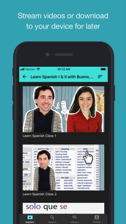 Learn Spanish with BE screenshot-3