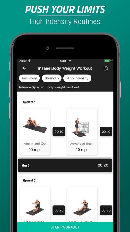 Home Workout & Fitness App screenshot-0