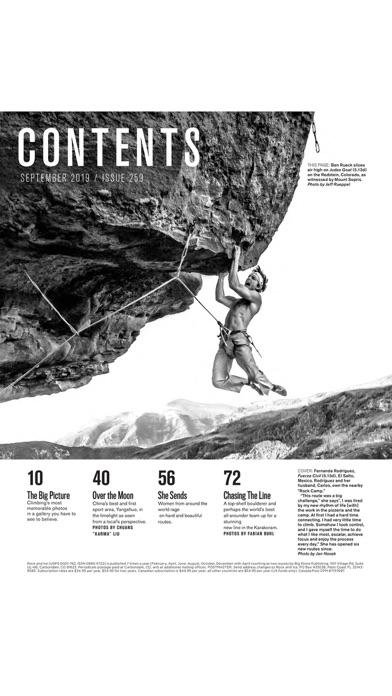 Rock and Ice Magazine Screenshot