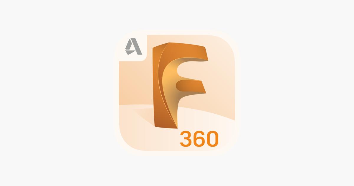 Logo del programa de diseño Fusion 360