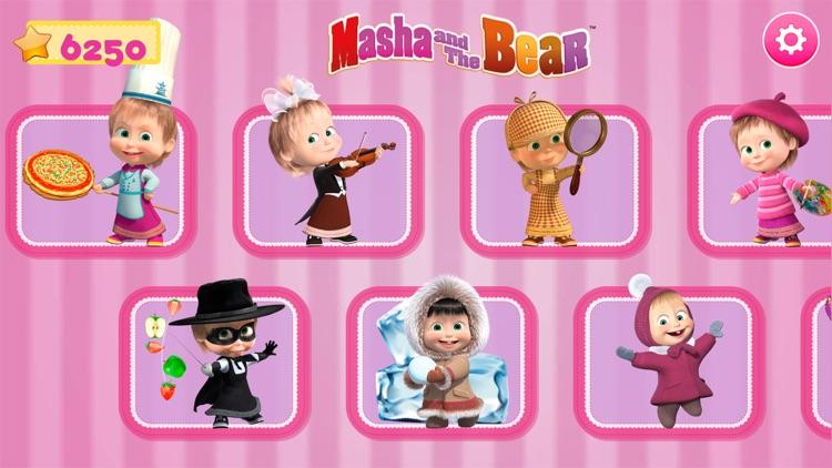Masha and the Bear. Activities