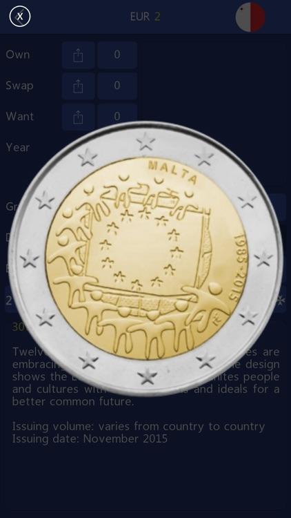 Euro Coin Collection screenshot-3