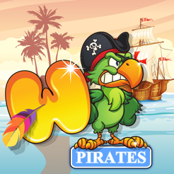 ‎Word Pirates: Word Puzzle Game