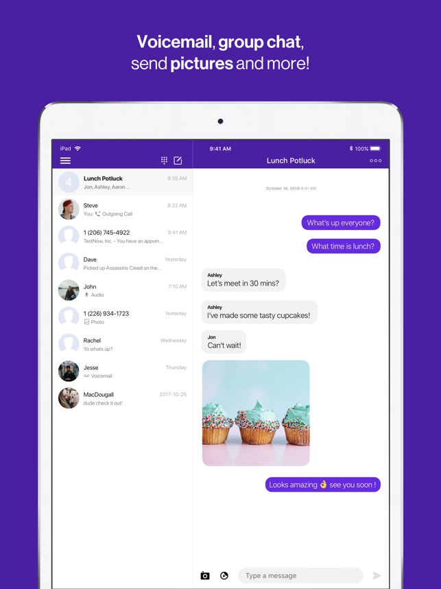 TextNow: Call + Text Unlimited on the App Store
