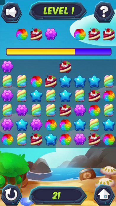 CANDY FOREST - DESTROY CAKE screenshot 3