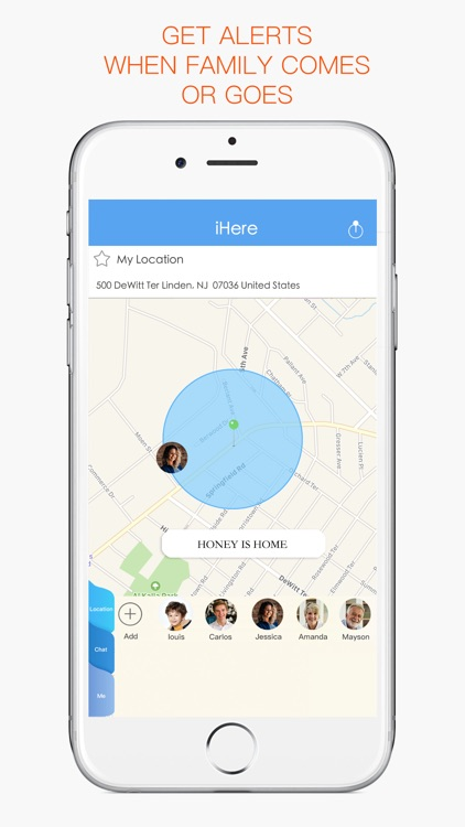 iHere Find My Family, Friends