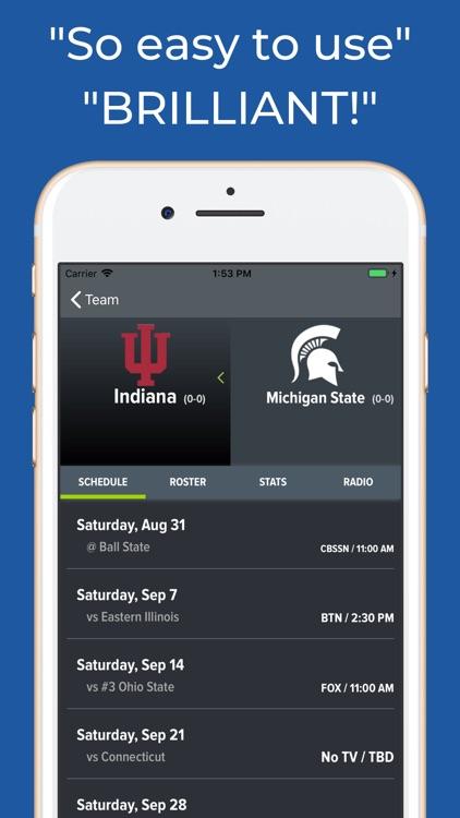 Michigan State Football screenshot-8