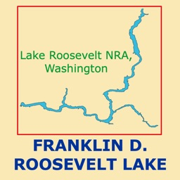 Franklin D. Roosevelt Lake Map