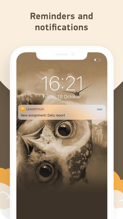 LeaderTask (Organizer,planner) screenshot-4
