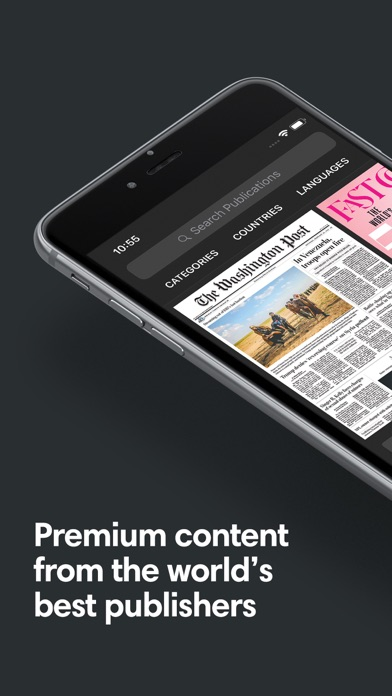 Screenshot for PressReader in Germany App Store