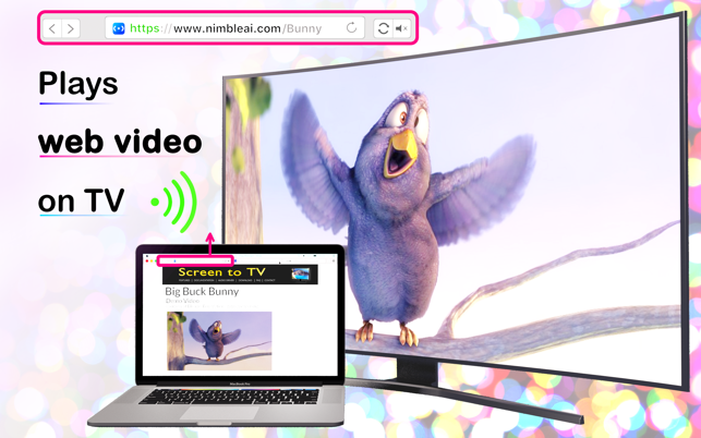 Screen to TV for DLNA on the Mac App Store