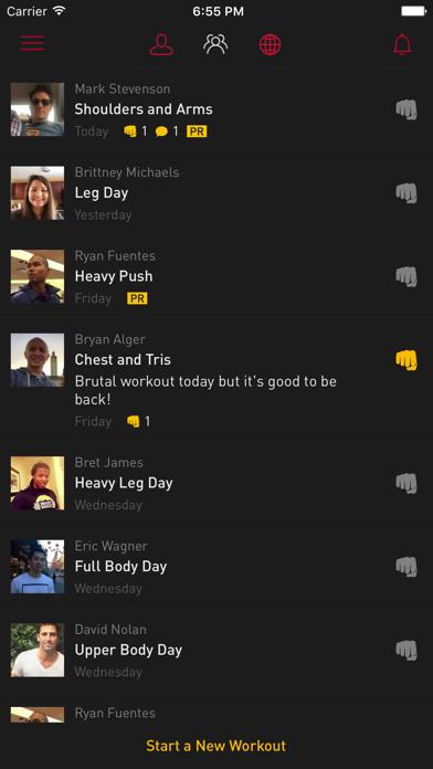 Gravitus - Workout Tracker & Strength Training Log screenshot