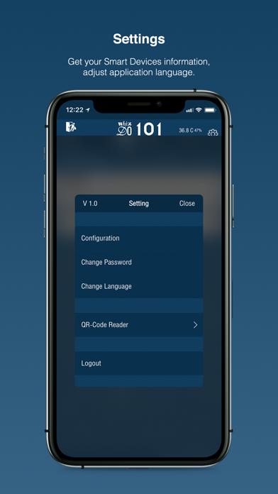 MQDC Smarthome Screenshot