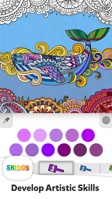 Drawing & Colouring for Kids screenshot #1