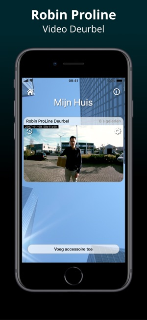 Deurbel Voor Iphone.Robin Proline Video Doorbell In De App Store
