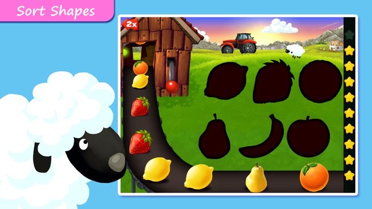Farm Puzzles - Shapes & Colors